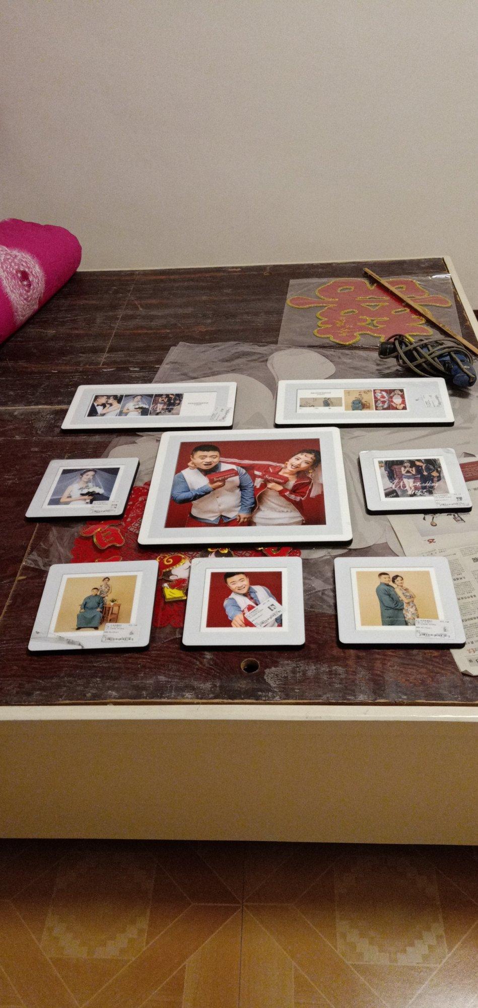 八张照片墙该怎么设计