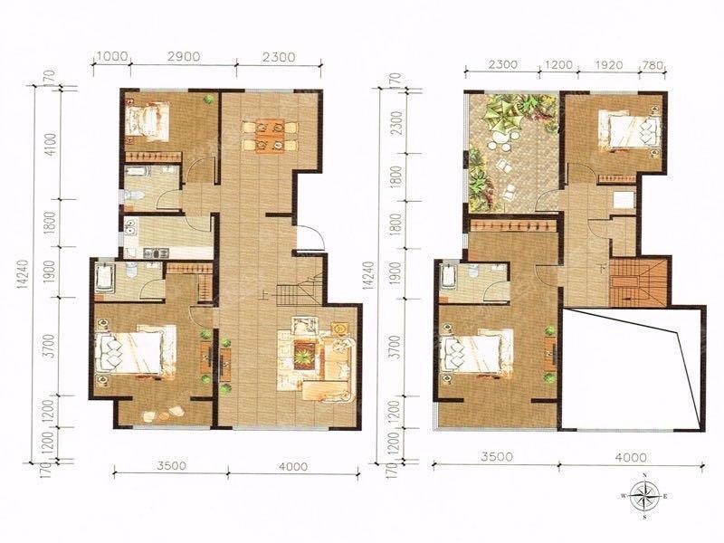 楼顶跃层25平米客厅跳高9米多,隔层用现浇板或者钢混都什么价格?