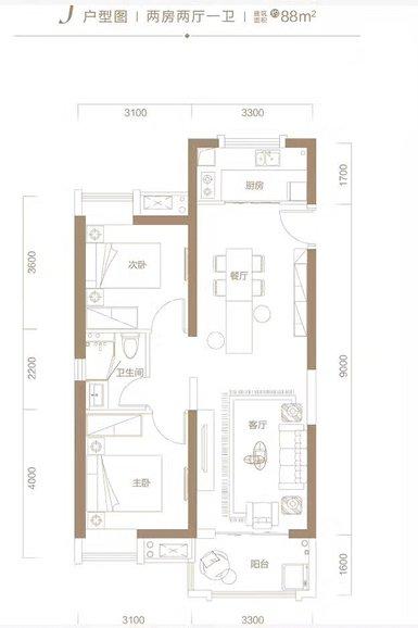 此户型下的精装修房,两室可以改三室,增加一个小书房吗?