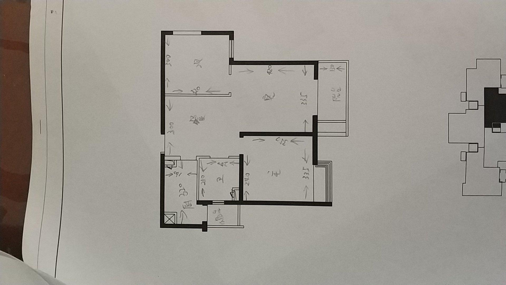 这样的户型可以两房改三房吗?