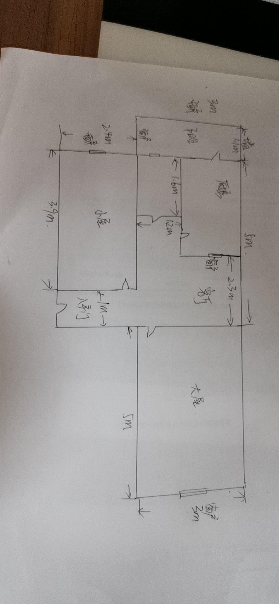 我是老房改造,卧室面积大,客厅厨房卫生间小,不知道把冰箱和洗衣机放哪比较合理