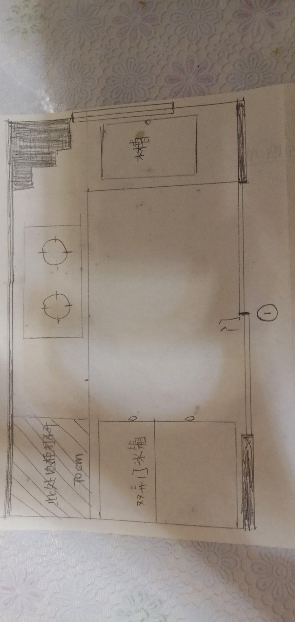 厨房布局有没有更换的方案?