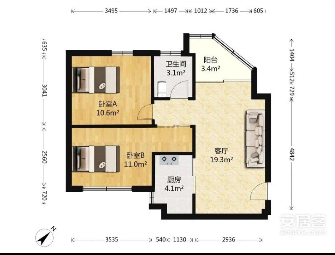 如何改三房好?