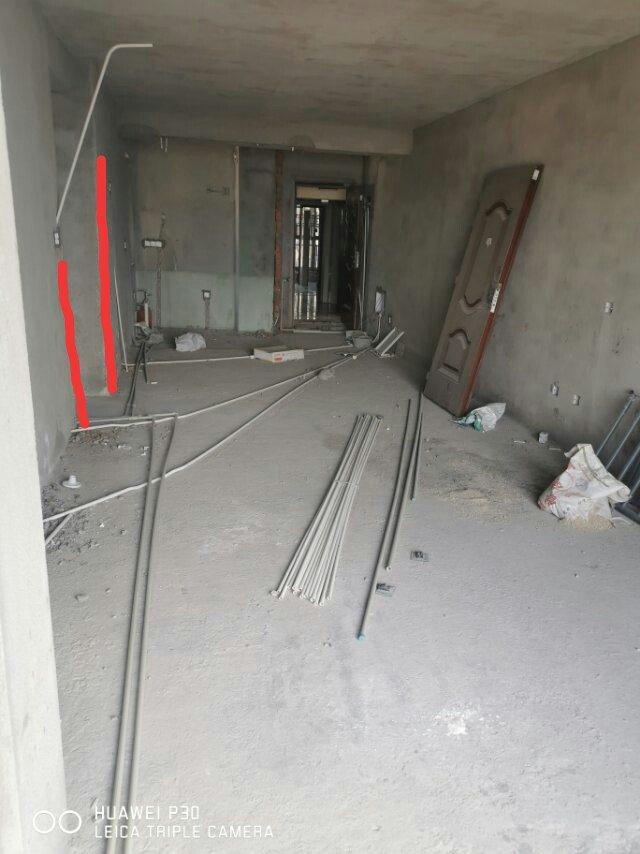 要图一的两面墙跟梁一样平,像图二那样,有什么办法