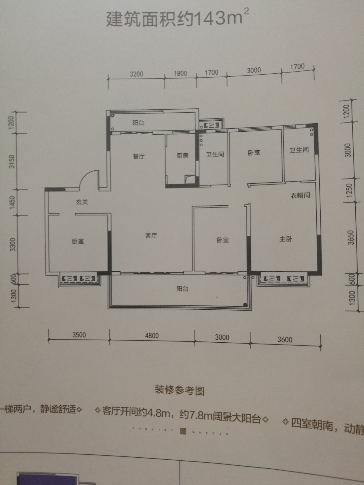 请问这个两个卫生间之间的房间做孩子(初中)房好(如果是这个房间就从主卧分两个平方