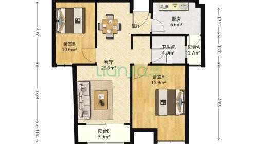 两房怎么改三房