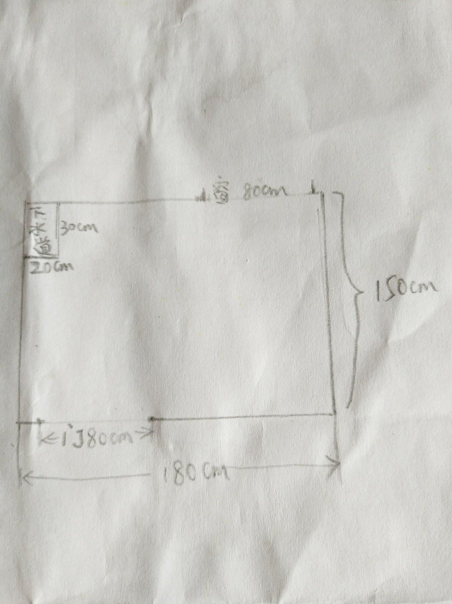 1.8×1.6m卫生间可以做干湿分离么?若可以,如何设计?谢谢😊