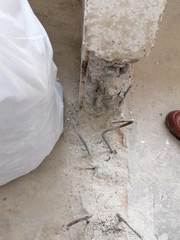 砖混结构阳台横梁打拆过程中,装修师傅把两根很粗的钢筋截断了,就算补救有鉴定措施么