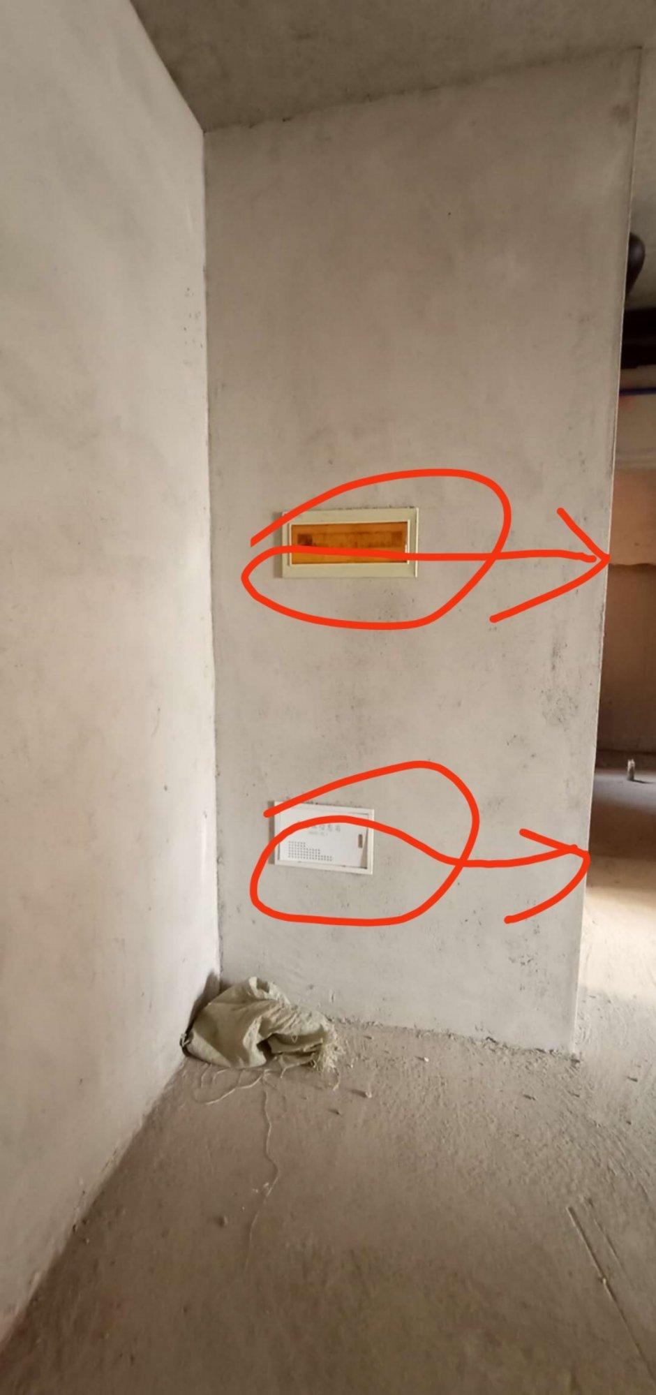 强弱电箱位置不好,挡着柜子,做到柜子里面安全吗