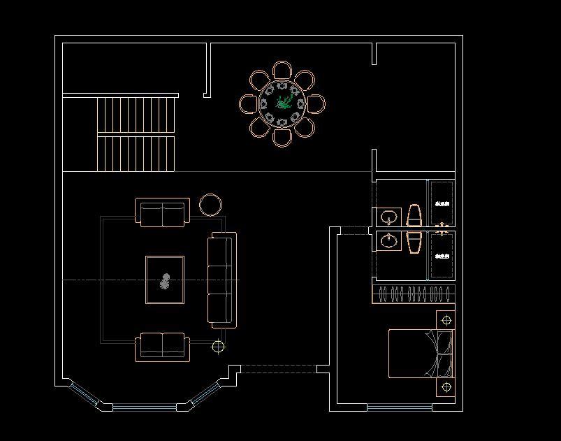 二楼布局如何调整比较好
