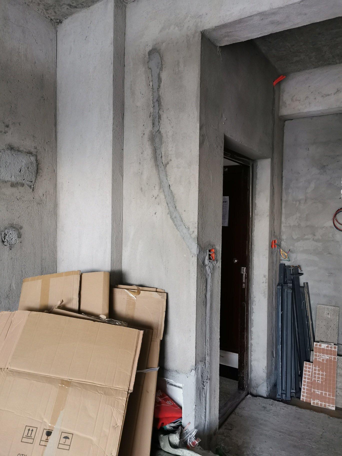 入户门右边一个二层要用砖砌平吗?砌平效果好还是不砌平效果好呢?求教