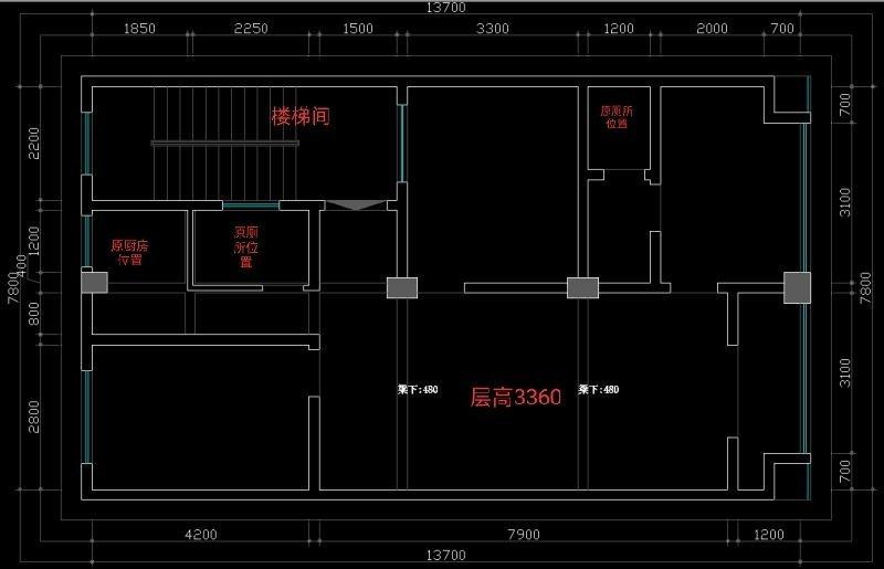 房子户型太差,要怎样设计才会既能满足自己的需求,又能合理布局呢。