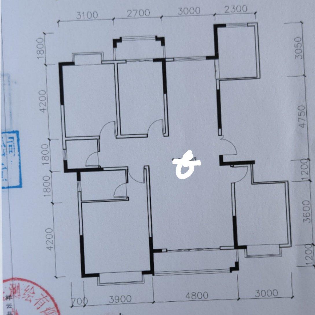 我这个四室怎么改五室?。人多住不下啊。