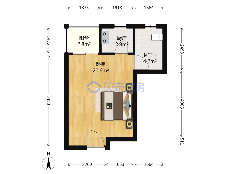 39平方情侣住,怎么装修利用空间?