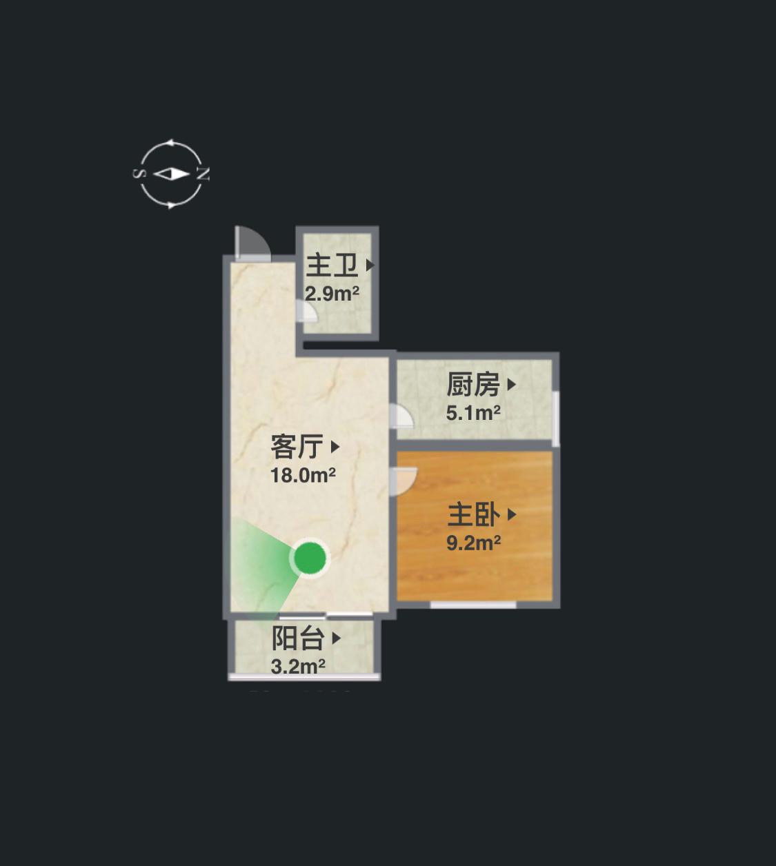一室一厅小户型