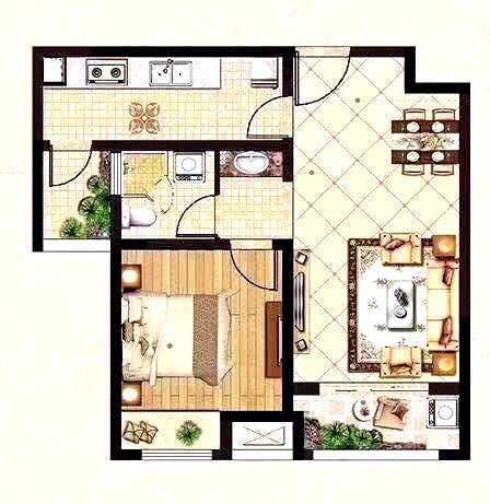 如何改成两室