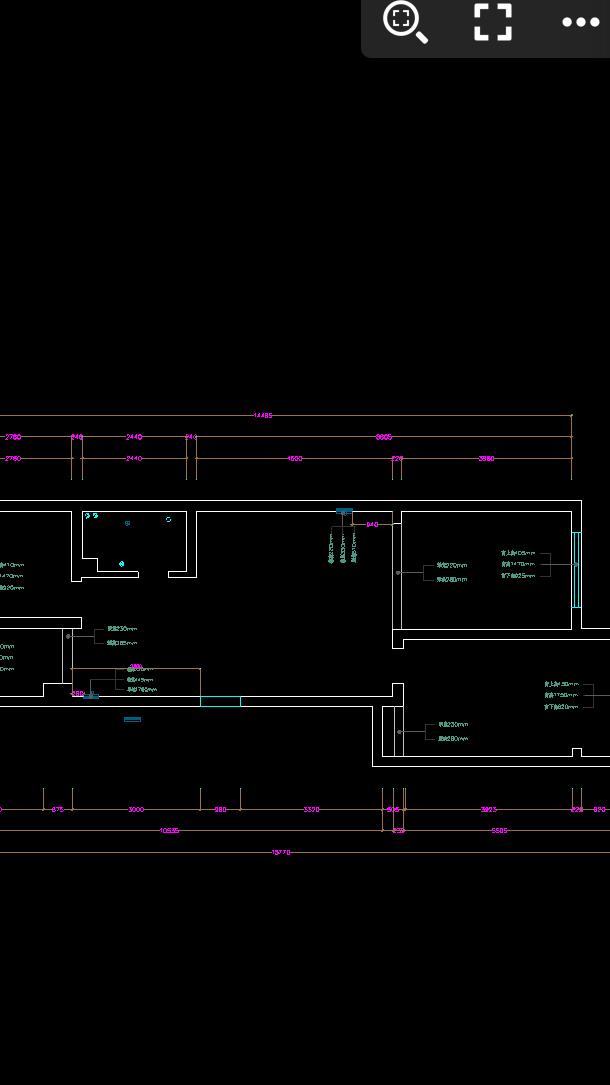 求各位大神给个意见,看看屋子整体该如何设计(卫生间很小该如何设置干湿分离)