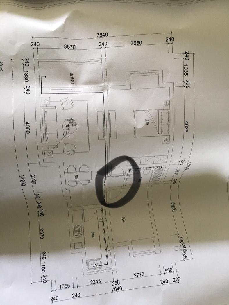 图上这个位置要作什么灯呢