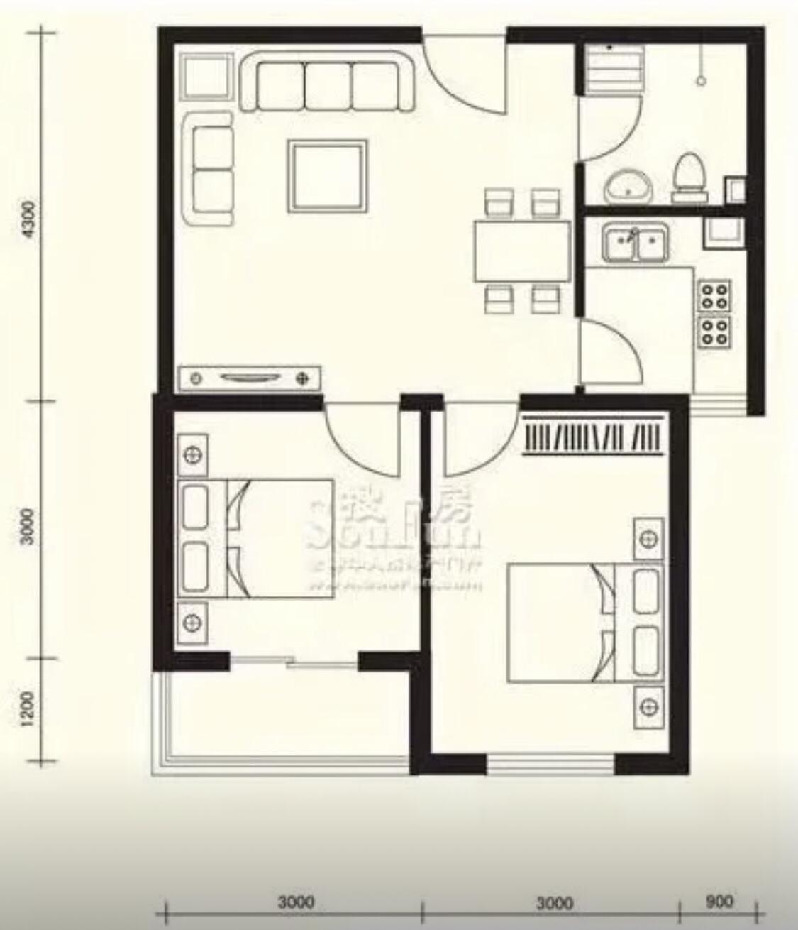 客厅没有窗户 怎么装修合适让空间更合理