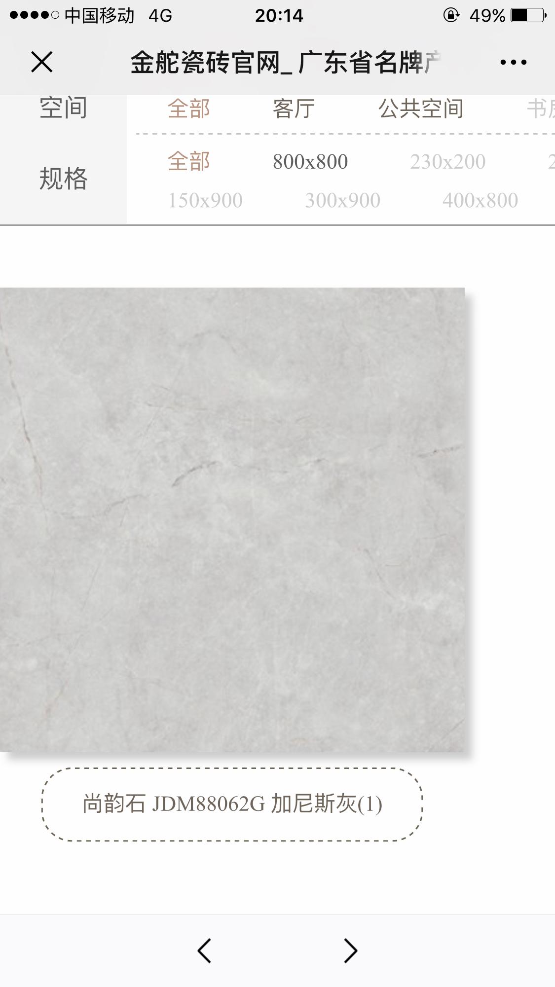客厅选用了浅灰色瓷砖,现在纠结搭配什么颜色的柜子比较百搭,求建议