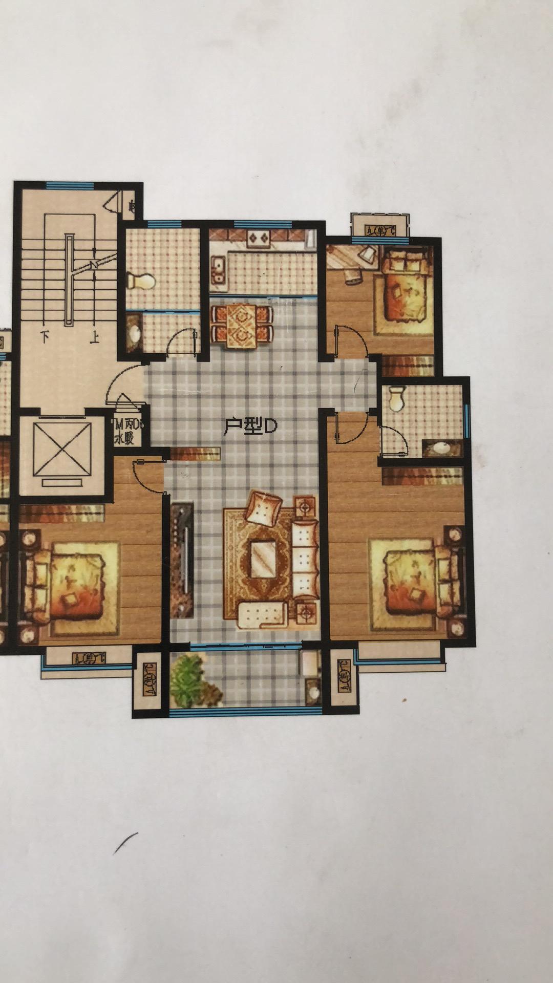 这种户型应该怎么设计装修?沙发斜冲着入户门对房子的风水好吗?