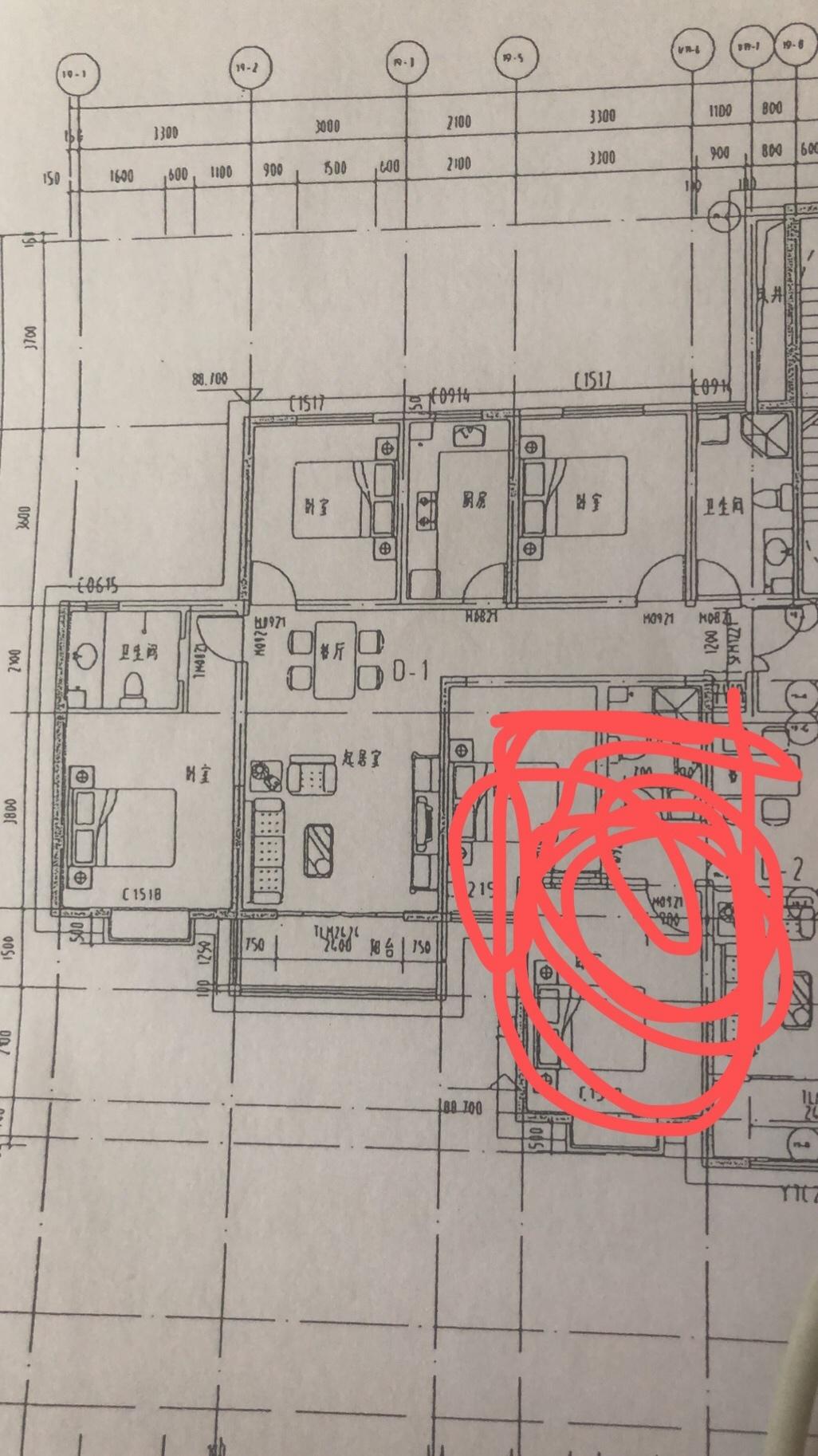 户型走廊特别狭长,而且没有餐厅,求帮忙改造设计一下,给点想法