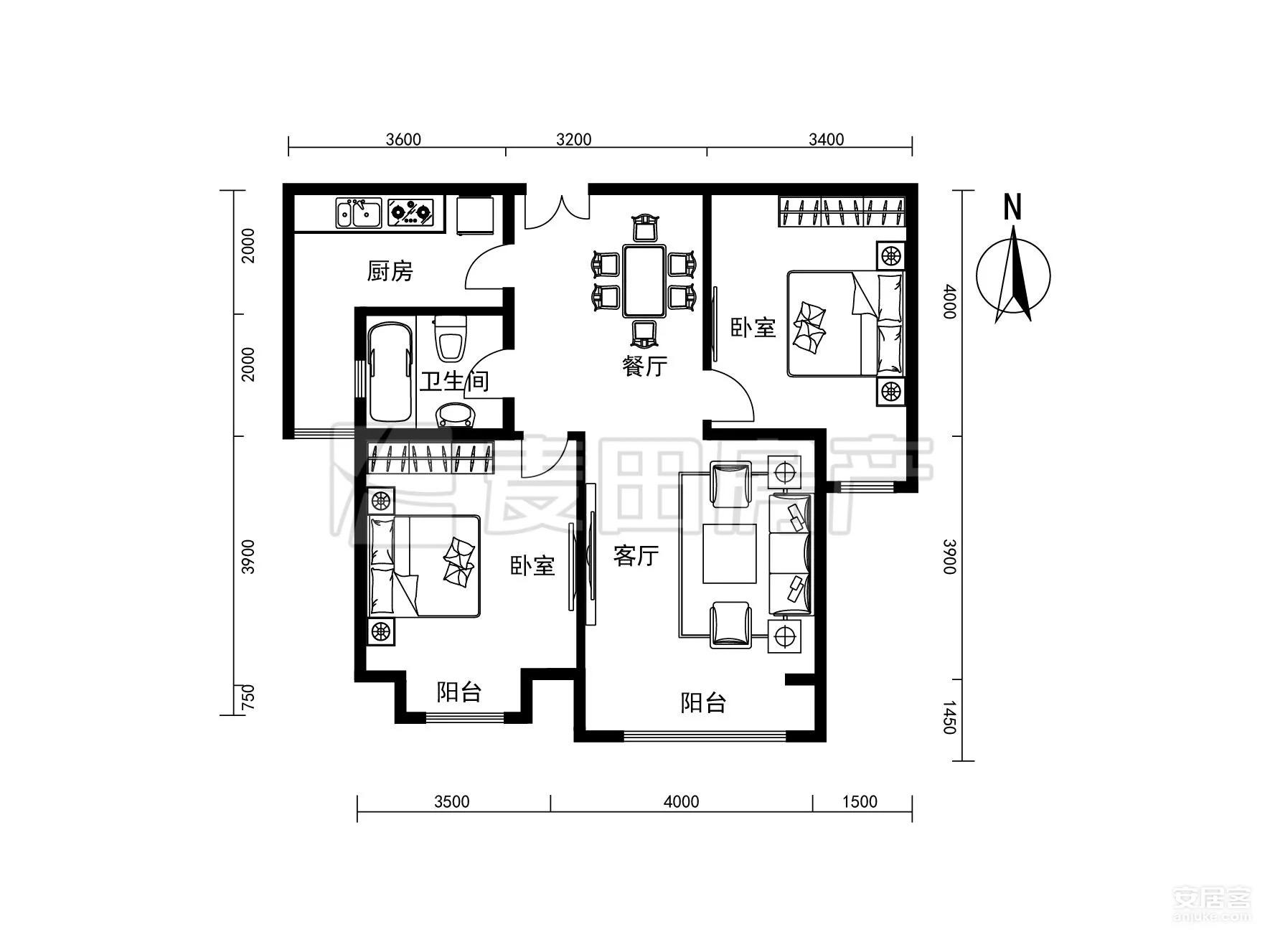 厨房想增加储物空间 如何设计装修更合理。