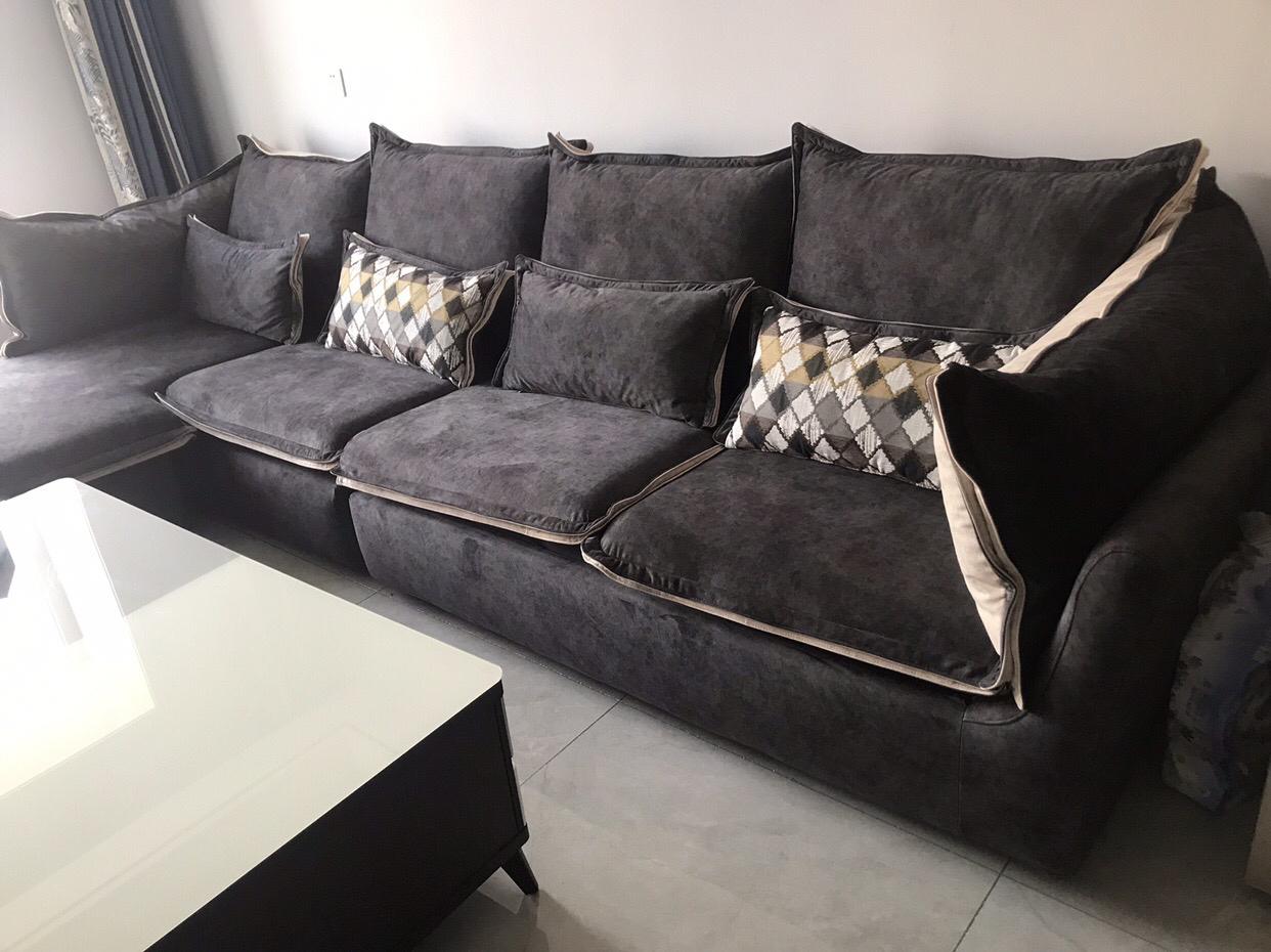 深色沙发配什么颜色沙发垫