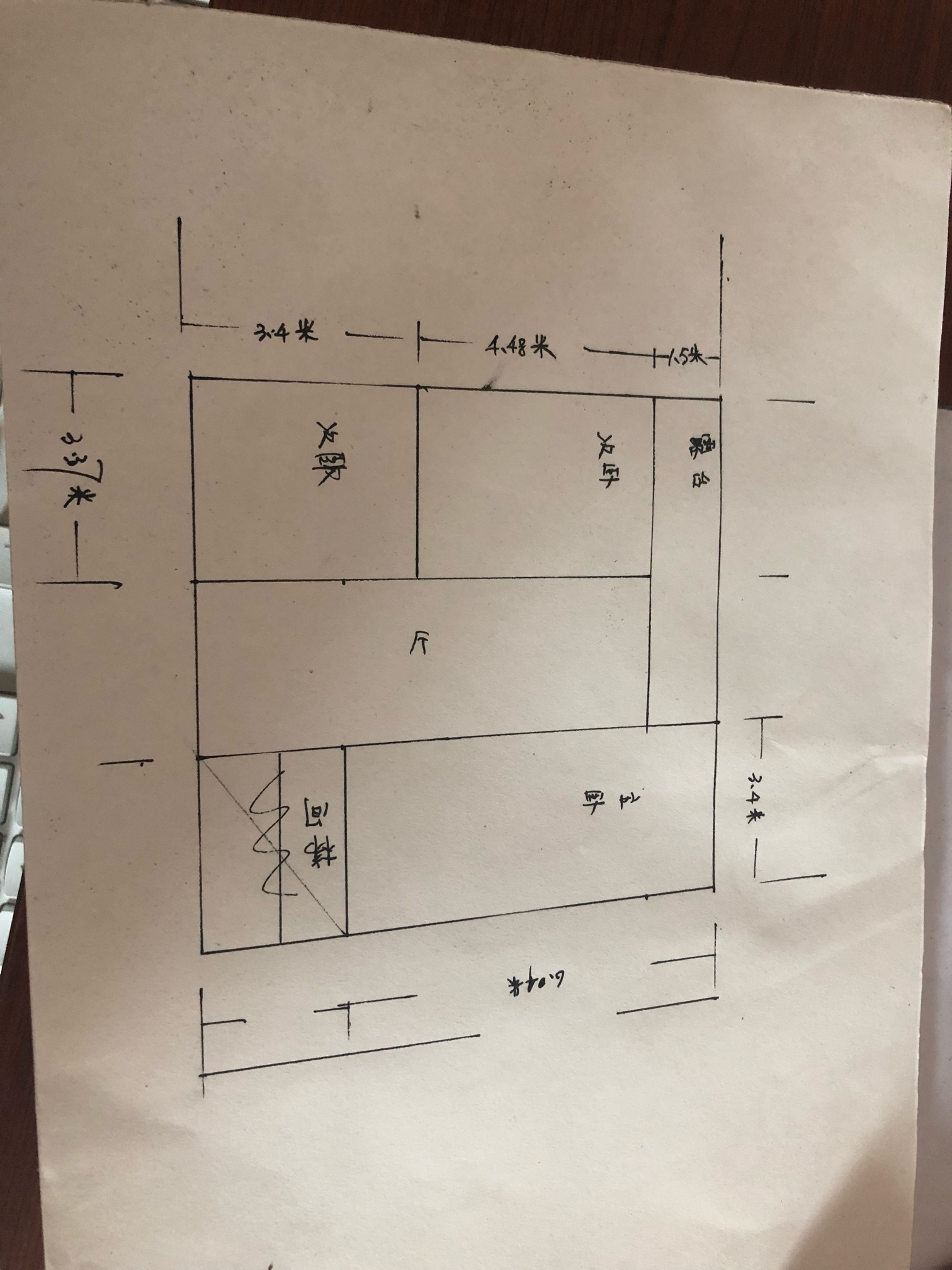 农村自建房二楼有个长厅该怎么乐投letou官网备用好?长875米,宽只有2.8米,不需要厨房和洗手
