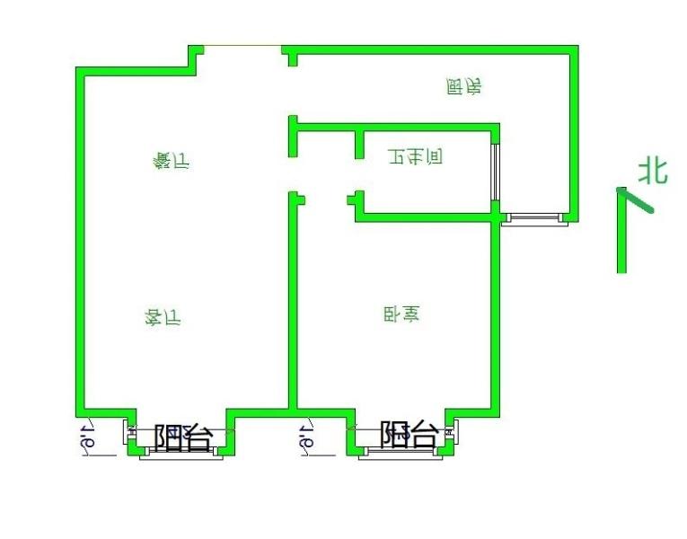 80平的一室一厅,客厅怎么隔出一室来