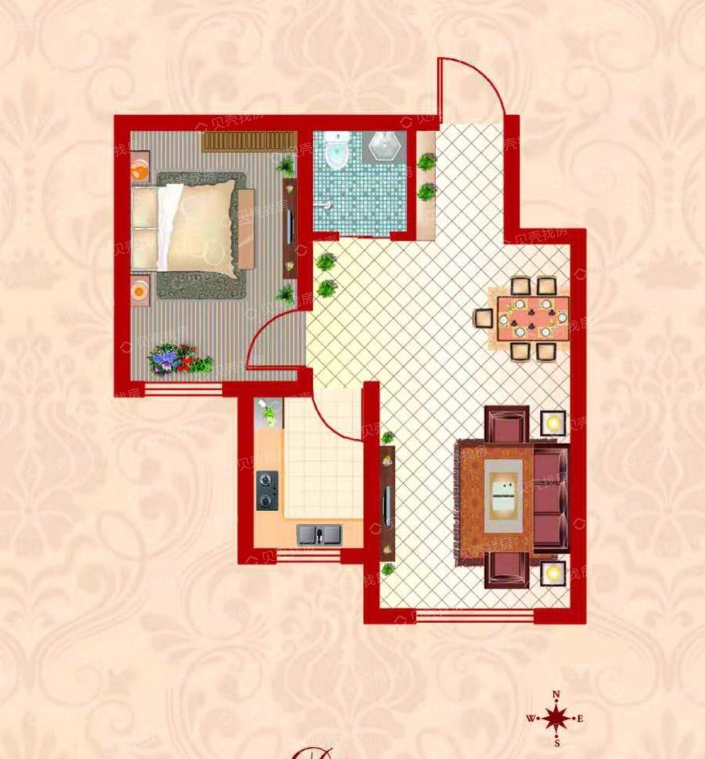 阁楼,楼梯口在窗户靠墙位置。楼梯怎么设计好看