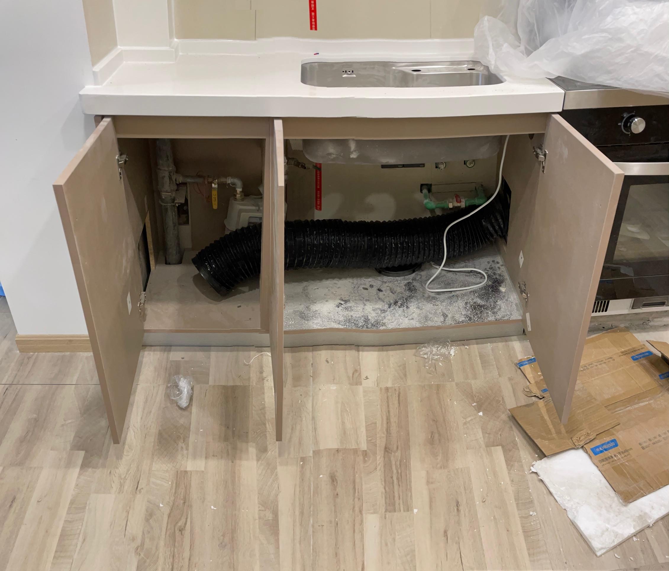 橱柜里面全是切割的洞有什么方法收边