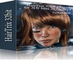 【3dmax插件】毛发模拟插件 Hairtrix for 3DSMax 2012 绿色下载