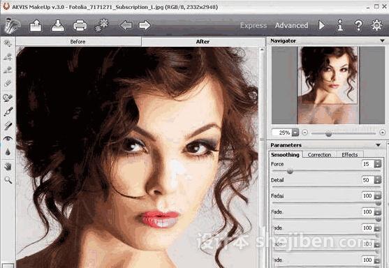 人物磨皮插件(AKVIS MakeUp) v3.5破解版下载0