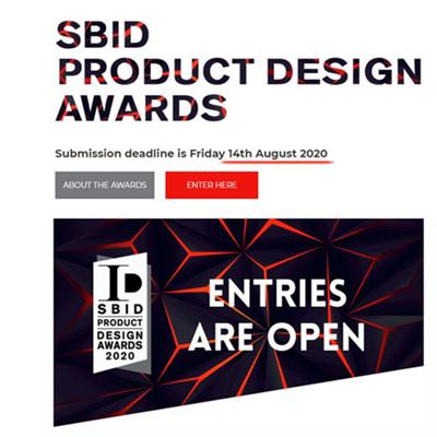 最后期限!英国SBID国际设计大奖报名通道将于6月12日最终截止,申报请从速!