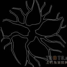 植物,树木图块素材6-10个