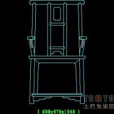 家具图块002-中式家具图块22个