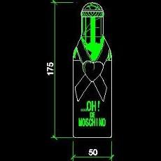 导购牌、电器类图块、服装类图块、化妆品CAD图块详图92--CAD整体案例
