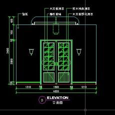 餐厅包间详图-CAD餐饮空间图纸素材9--CAD整体案例