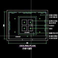 餐厅包间详图-CAD餐饮空间图纸素材第二辑12--CAD整体案例