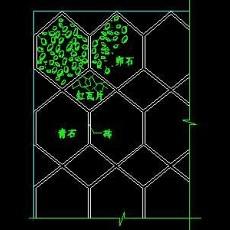 中式铺地、花街铺地、石材拼花CAD图块2--CAD图块素材