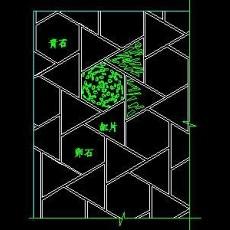 中式铺地、花街铺地、石材拼花CAD图块13--CAD图块素材