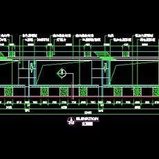 营业厅实例cad详图、装修施工图纸9例-22--CAD整体案例