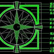 中式铺地、花街铺地、石材拼花CAD图块40--CAD图块素材