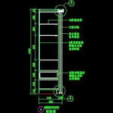 梳妆台、衣柜cad详图素材26--CAD空间素材