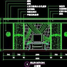 KTV包房、娱乐类实例cad详图素材91--CAD整体案例