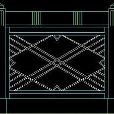 中式落地罩、中式隔断、活动式隔断、低隔断、高隔断CAD图块3--CAD图块素材