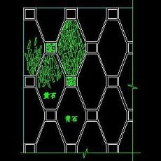 中式铺地、花街铺地、石材拼花CAD图块22--CAD图块素材