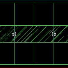 衣柜图块、床头柜CAD图块素材16--CAD空间素材