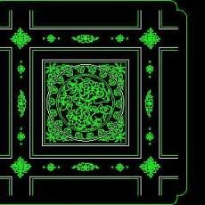 cad中式彩画图块素材85--CAD图块素材